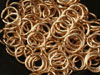 Bronze 18AWG chainmaille jumprings